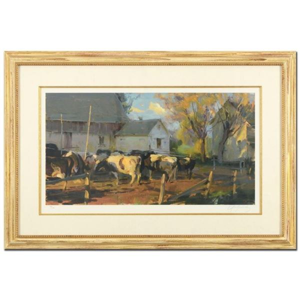 Evening Holsteins by Gerhartz, Dan