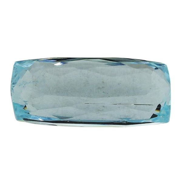 7.23 ct.Natural Cushion Cut Aquamarine