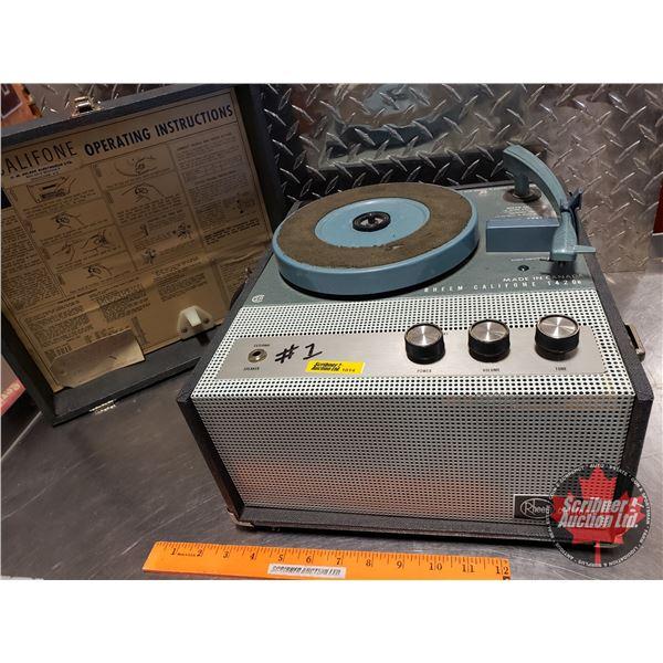 Rheem Califone 1420B Record Player