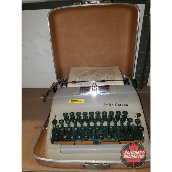 Smith-Corona Portable Typewriter
