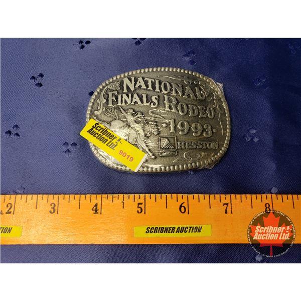 Hesston Belt Buckle 1993