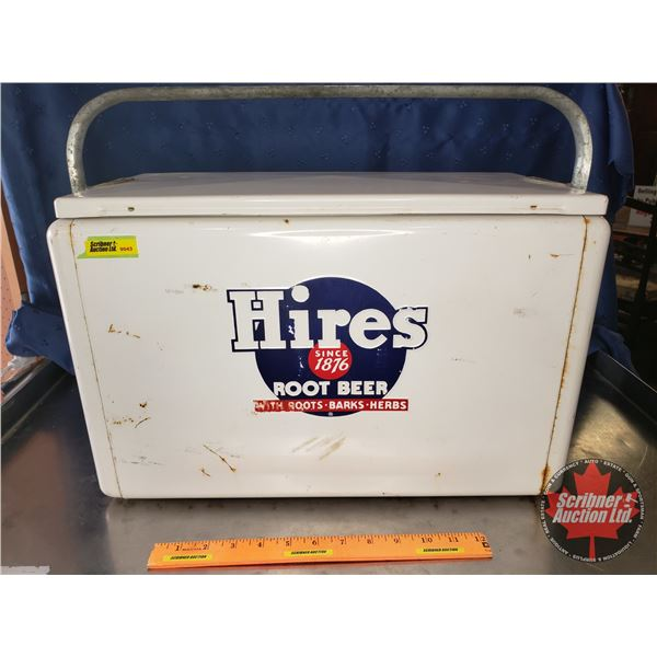 """""""Hires Root Beer"""" Picnic Cooler w/Sandwich Tray (12""""H x 10""""D x 19""""W)"""