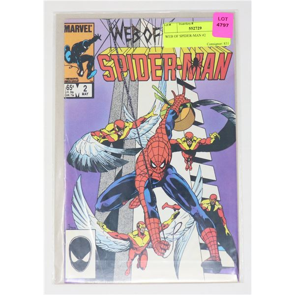WEB OF SPIDER-MAN #2