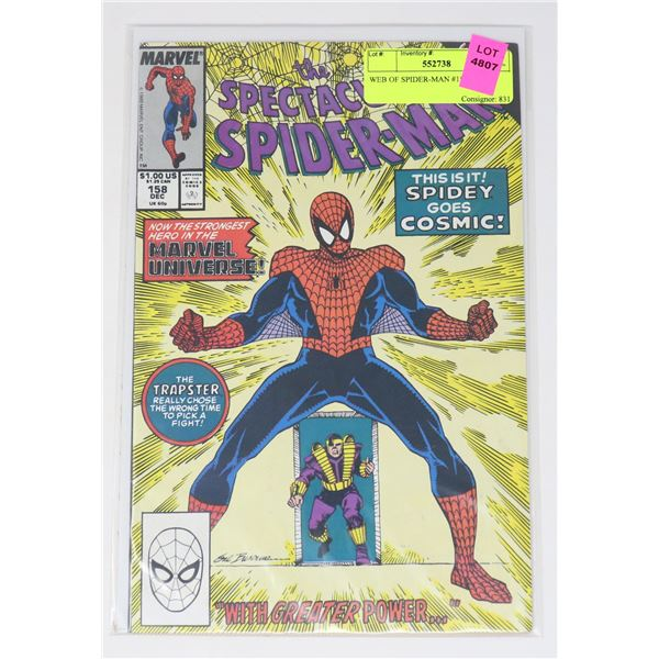WEB OF SPIDER-MAN #158
