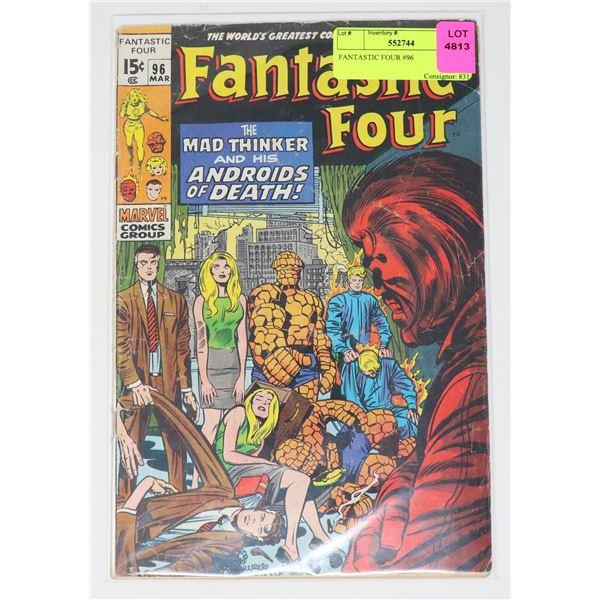 FANTASTIC FOUR #96
