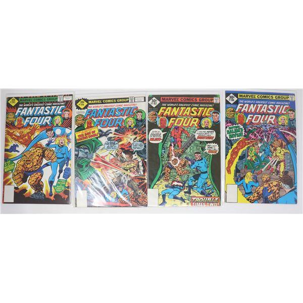 FANTASTIC FOUR COMICS --- WHITMAN VARIANTS