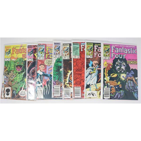 FANTASTIC FOUR COMICS --- 10 ISSUES - INCL VARIANT