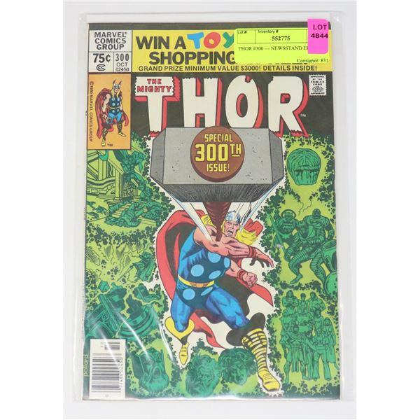 THOR #300 --- NEWSSTAND EDITION