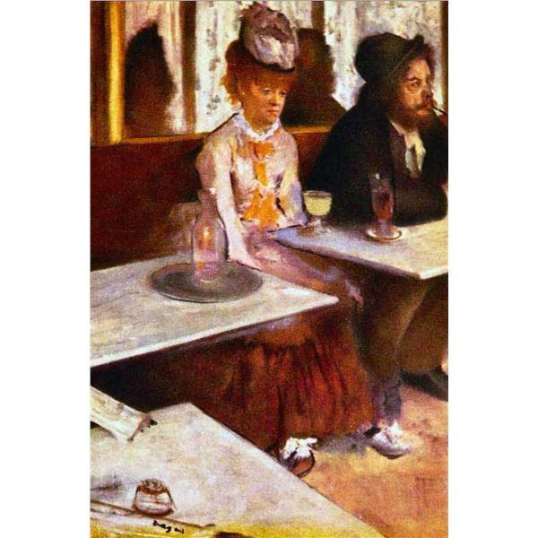 Edgar Degas - Absinthe Drinkers
