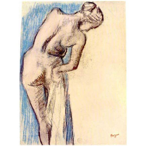 Edgar Degas - Female After The Bath