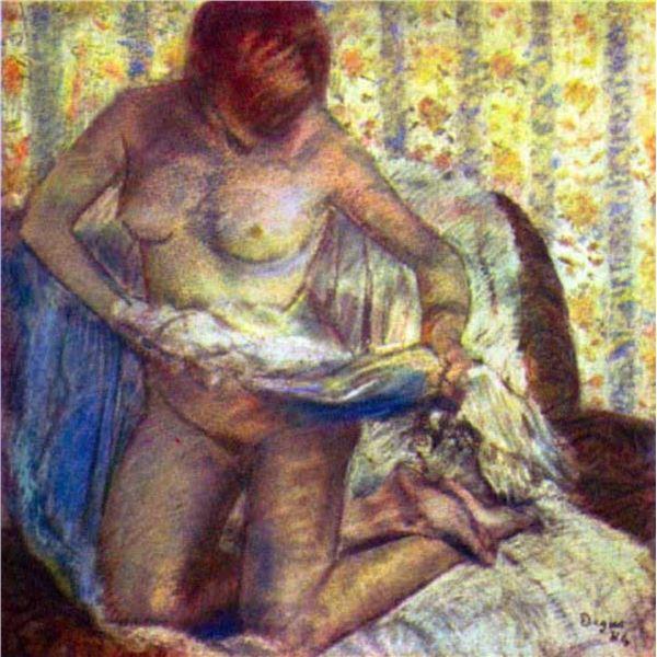 Edgar Degas - Nude Woman