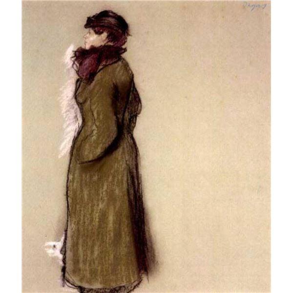 Edgar Degas - Portrait Of Ellen Andree