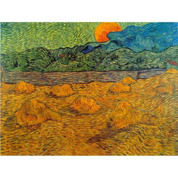 Van Gogh - Rising Moon