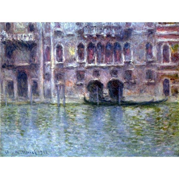Claude Monet - Palazzo da Mula, Venice