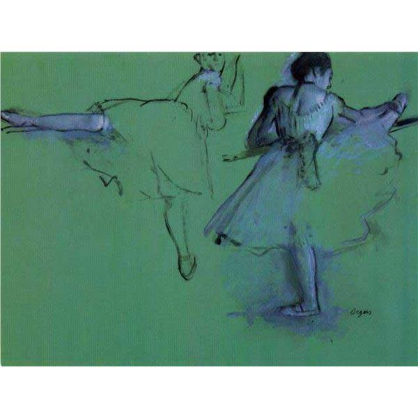 Edgar Degas - Dancers At The Bar #2