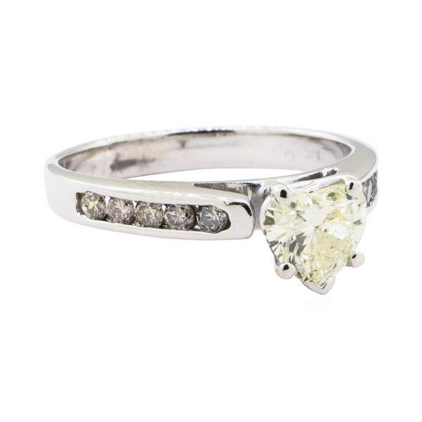 1.31 ctw Diamond Ring - 10KT White Gold