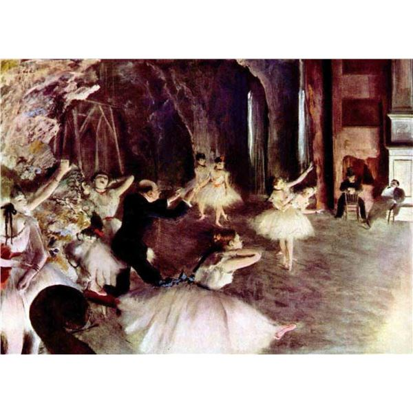 Edgar Degas - Stage Probe