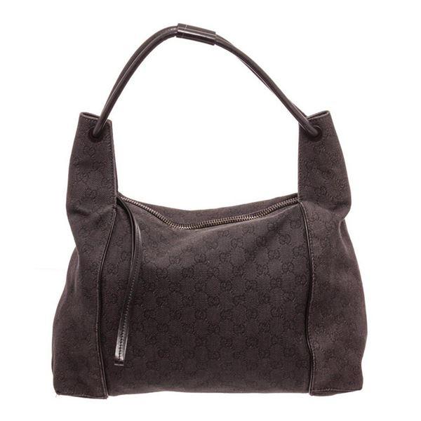 Gucci Brown GG Canvas Shoulder Bag