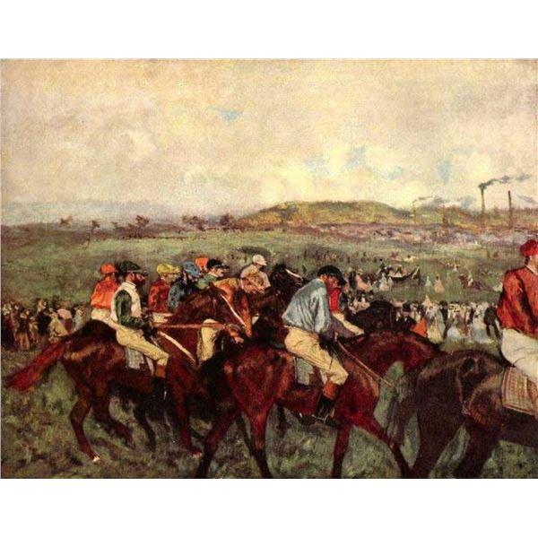 Edgar Degas - Men's Riders Before The Start