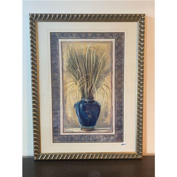 """Framed Vase Picture 34""""W x 44""""H"""