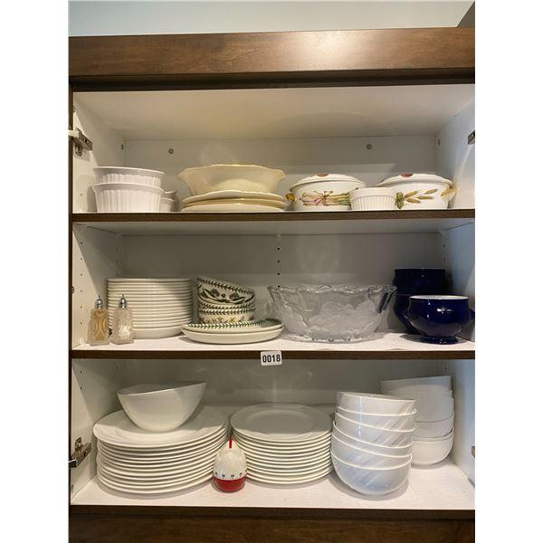 "Mikassa ""Emma"" White Dinnerware Set"