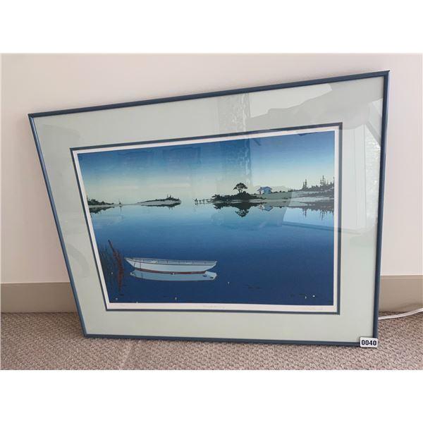 """Daydreaming"" Framed Print 171/200 - 31""W x 24""H"