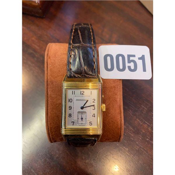 Jaeger-LeCoultre Reverso 18k Gold Swiss Watch