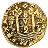 Image 1 : Lima, Peru, cob 8 escudos, 1729 N, NGC AU 50.