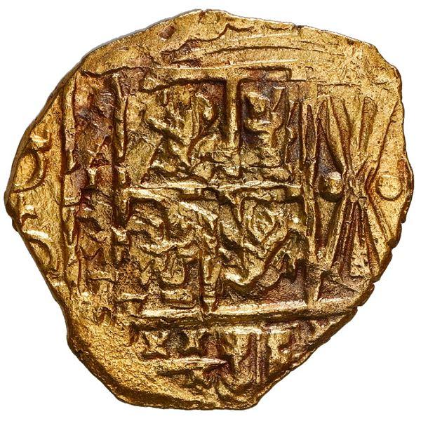 Bogota, Colombia, cob 2 escudos, 1713, no assayer (Arce), NGC MS 62, ex-1715 Fleet, ex-Weller, ex-Ta