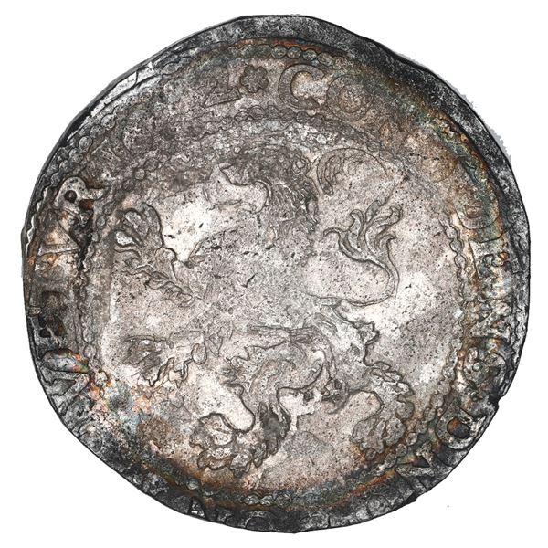 """Westfriesland, United Netherlands, """"lion"""" daalder, 1622, ex-Christie's (1983), ex-Jaggers."""