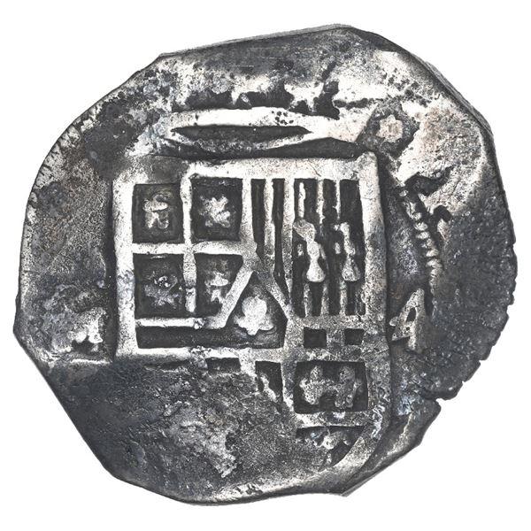 Mexico City, Mexico, cob 4 reales, Philip IV, assayer D, ex-Spink.