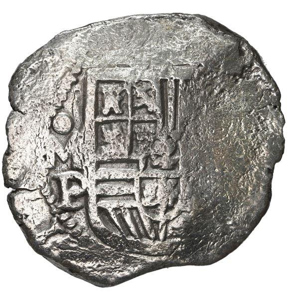 Mexico City, Mexico, cob 8 reales, Philip IV, assayer P, ex-Blanchard.