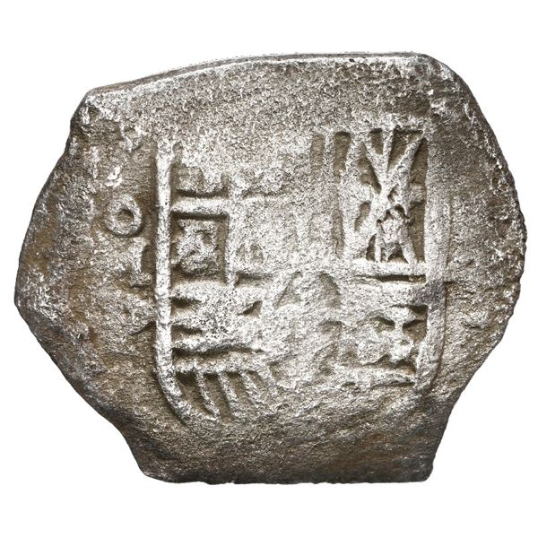 Mexico City, Mexico, cob 4 reales, Philip IV, assayer P, ex-Schulman (1974).