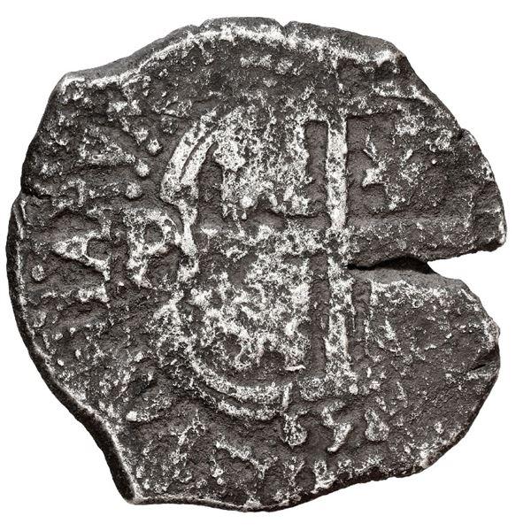 Potosi, Bolivia, cob 4 reales, 1658 E.