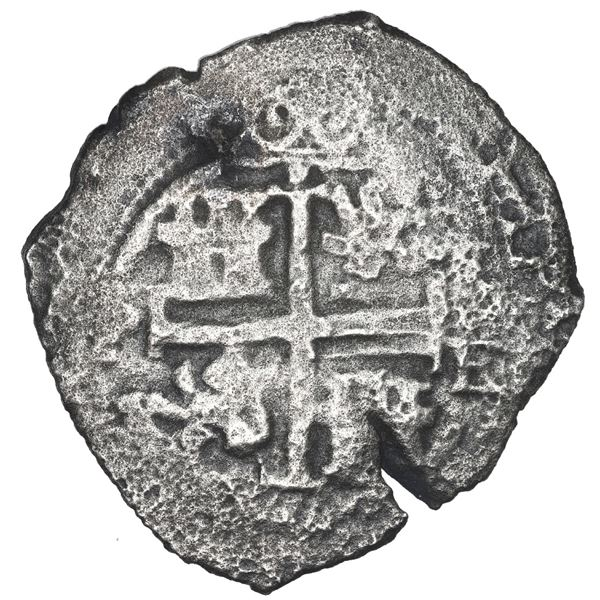 Potosi, Bolivia, cob 8 reales, 1666 E.