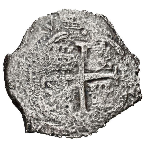 Potosi, Bolivia, cob 8 reales, 1677 E.