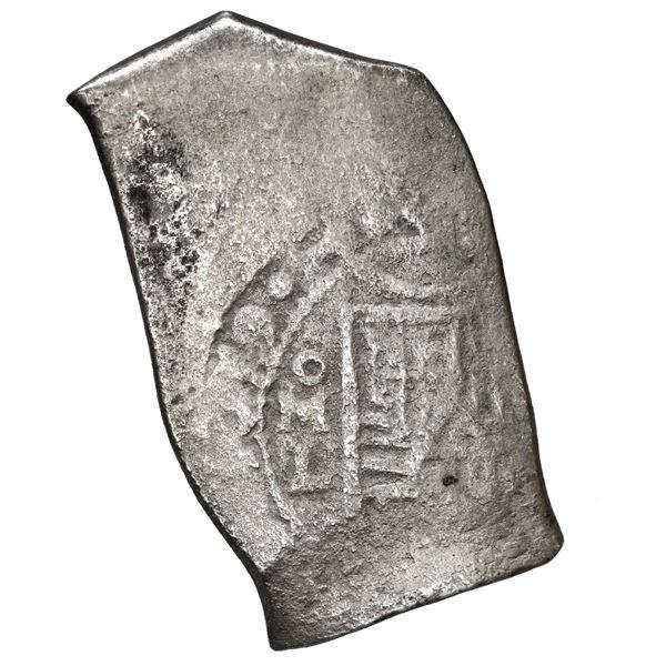 Mexico City, Mexico, cob 8 reales, 1679 L, rare.