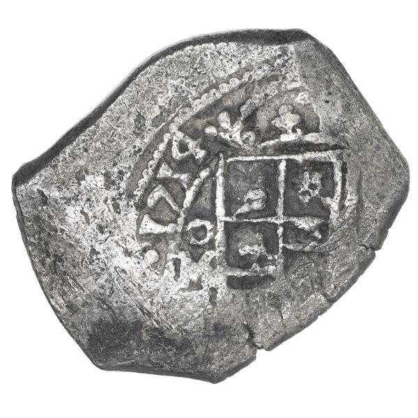 Mexico City, Mexico, cob 8 reales, 1714 J (old style).
