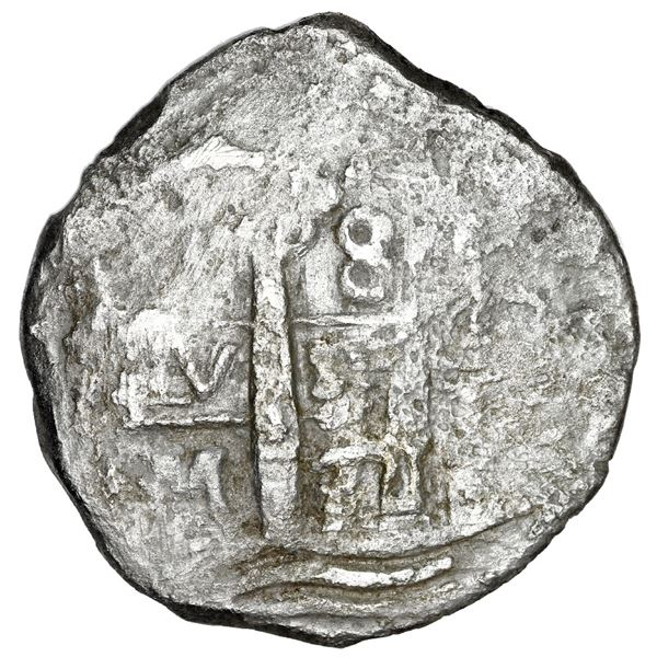 Lima, Peru, cob 8 reales, 1711 M.