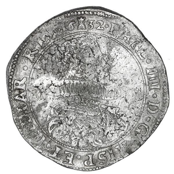 Tournai, Spanish Netherlands, portrait ducatoon, Philip IV, 1632.
