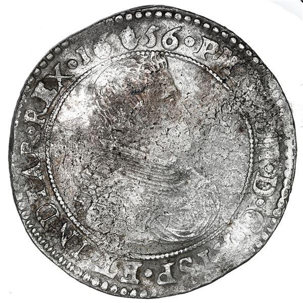 Brabant, Spanish Netherlands (Antwerp Mint), portrait ducatoon, Philip IV, 1656.