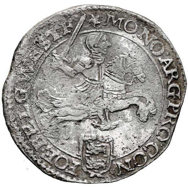 """Westfriesland, United Netherlands, """"rider"""" ducatoon, 1665."""