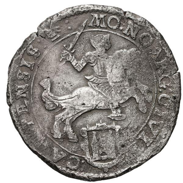 "Campen, United Netherlands, ""rider"" ducatoon, 1668."