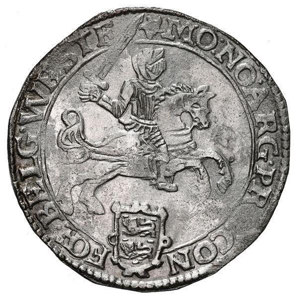 """Westfriesland, United Netherlands, """"rider"""" ducatoon, 1673."""