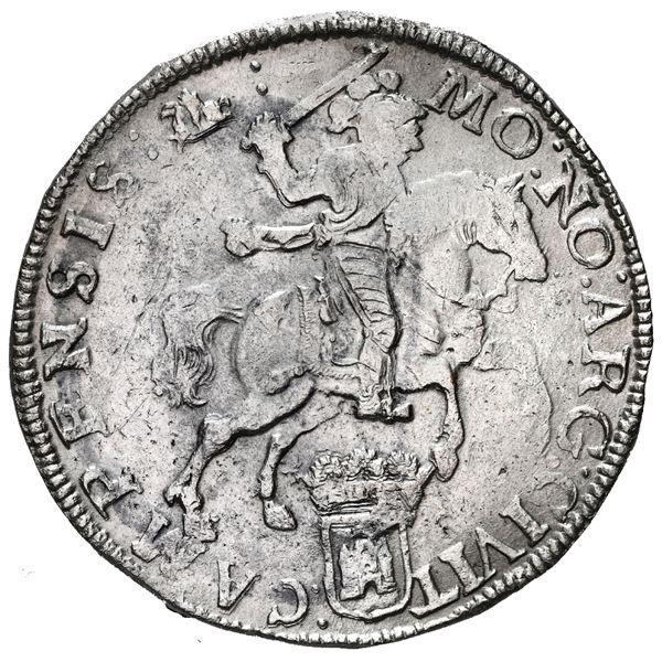 "Campen, United Netherlands, ""rider"" ducatoon, 1676."