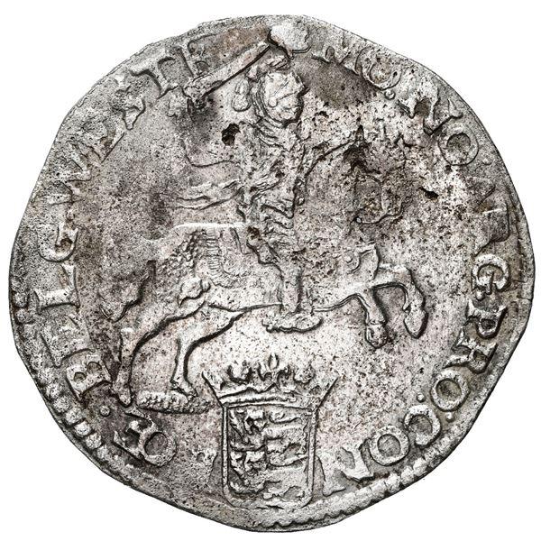 """Westfriesland, United Netherlands, """"rider"""" ducatoon, 1676."""