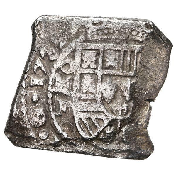 Mexico City, Mexico, cob 8 reales, 1732 F.