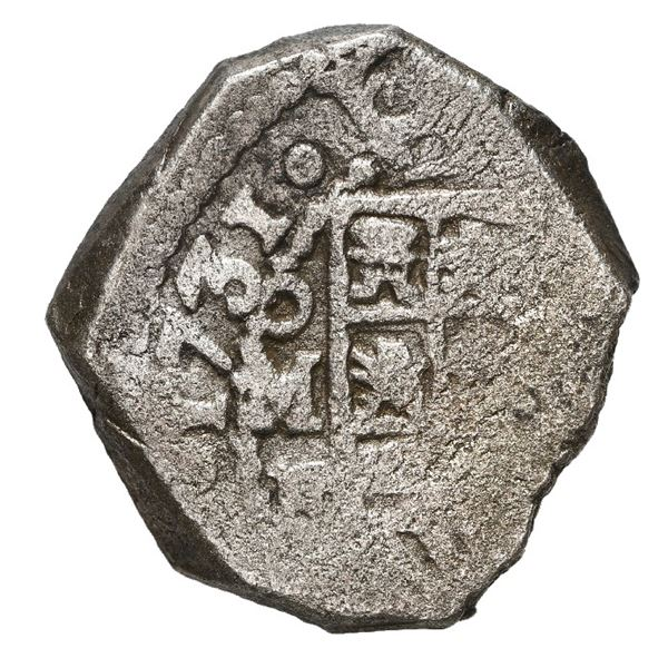 Mexico City, Mexico, cob 4 reales, 1731 F.
