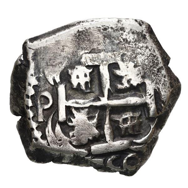 Potosi, Bolivia, cob 4 reales, 1750 q.