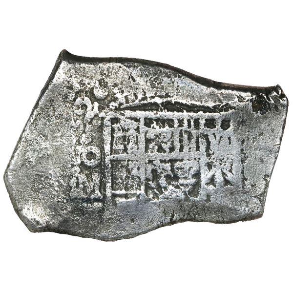 Mexico City, Mexico, cob 8 reales, 1722 J, rare.